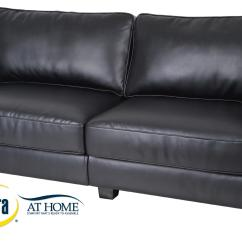 50 Inch Sofas Extra Long For Sale Serta Rta Santa Rosa Collection 72 Quot Leather Sofa Black