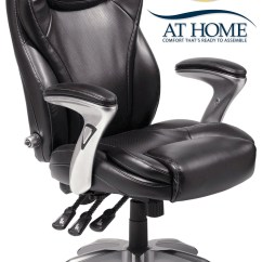 Serta Office Chair Warranty Claim Swing Price In Nepal Leather Ergo Executive