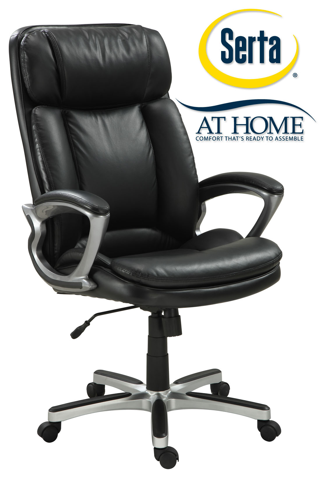 executive office chairs specifications french country dining chair cushions serta big and tall shop your way