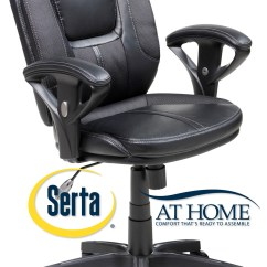 Serta Office Chair Warranty Claim Black Leather Lounge With Ottoman Manager 39s Task
