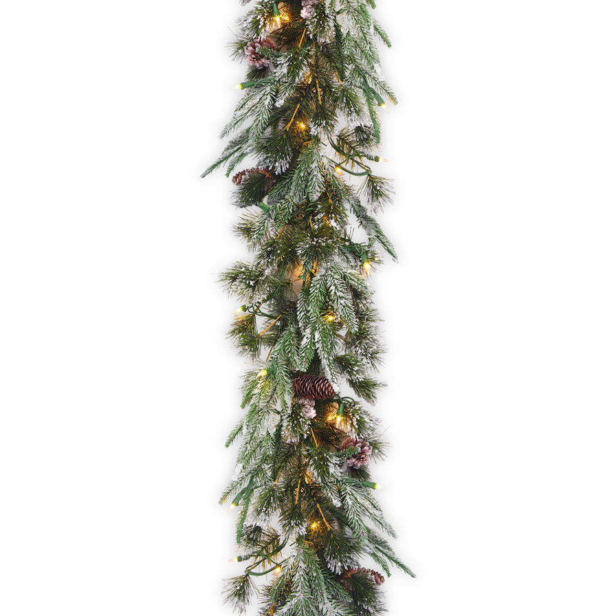 National Tree Company 9 Ft Liberty Pine Garland With