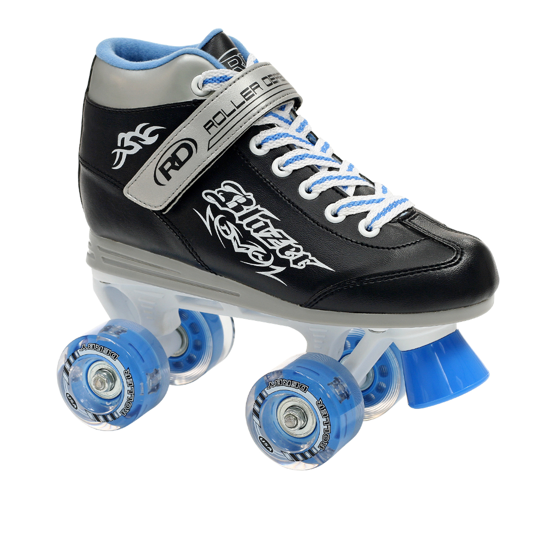 Roller Derby Blazer Boys Lighted Wheel Roller Skate