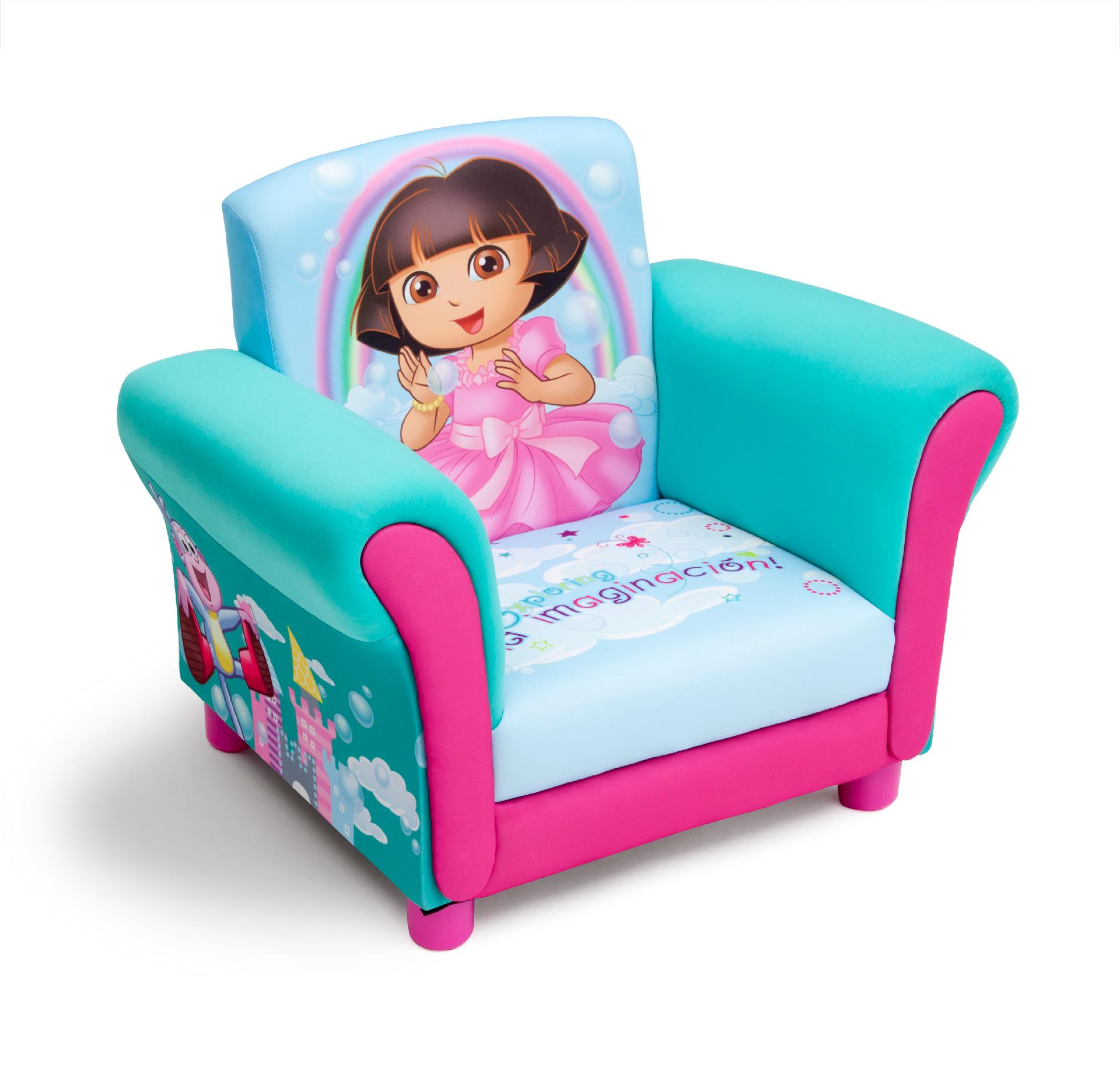 Sofa Chair For Toddler Delta Children Dora Upholstered Chair Baby Toddler
