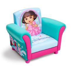 Minnie Mouse Upholstered Chair Rattan Meditation Delta Child 39s Rocking Free