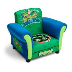 Childrens Upholstered Chair Fisher Price Booster Delta Children Ninja Turtle Baby
