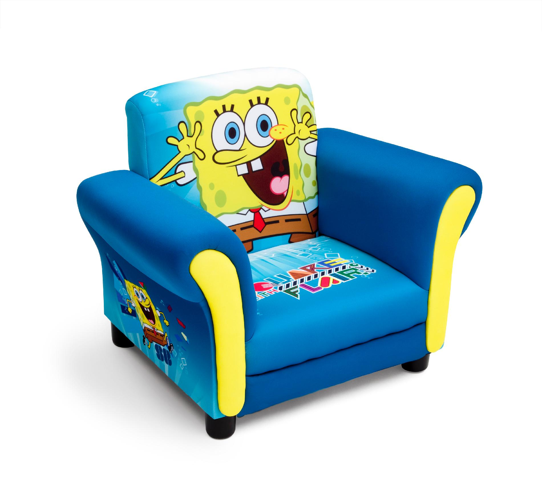 Kids Upholstered Chair Delta Children Spongebob Upholstered Chair Baby