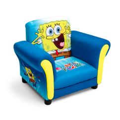 Childrens Upholstered Chair Toro Lounge Delta Children Spongebob Baby