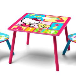 Kids Table And Chair Set Kmart White Windsor Dining Chairs Delta Children Hello Kitty Baby Toddler