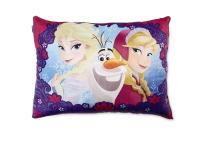 Disney Frozen Girl's Bed Pillow - Anna Elsa & Olaf | Shop ...
