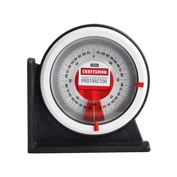 Craftsman Magnetic Universal Protractor Angle Finders & Protractors