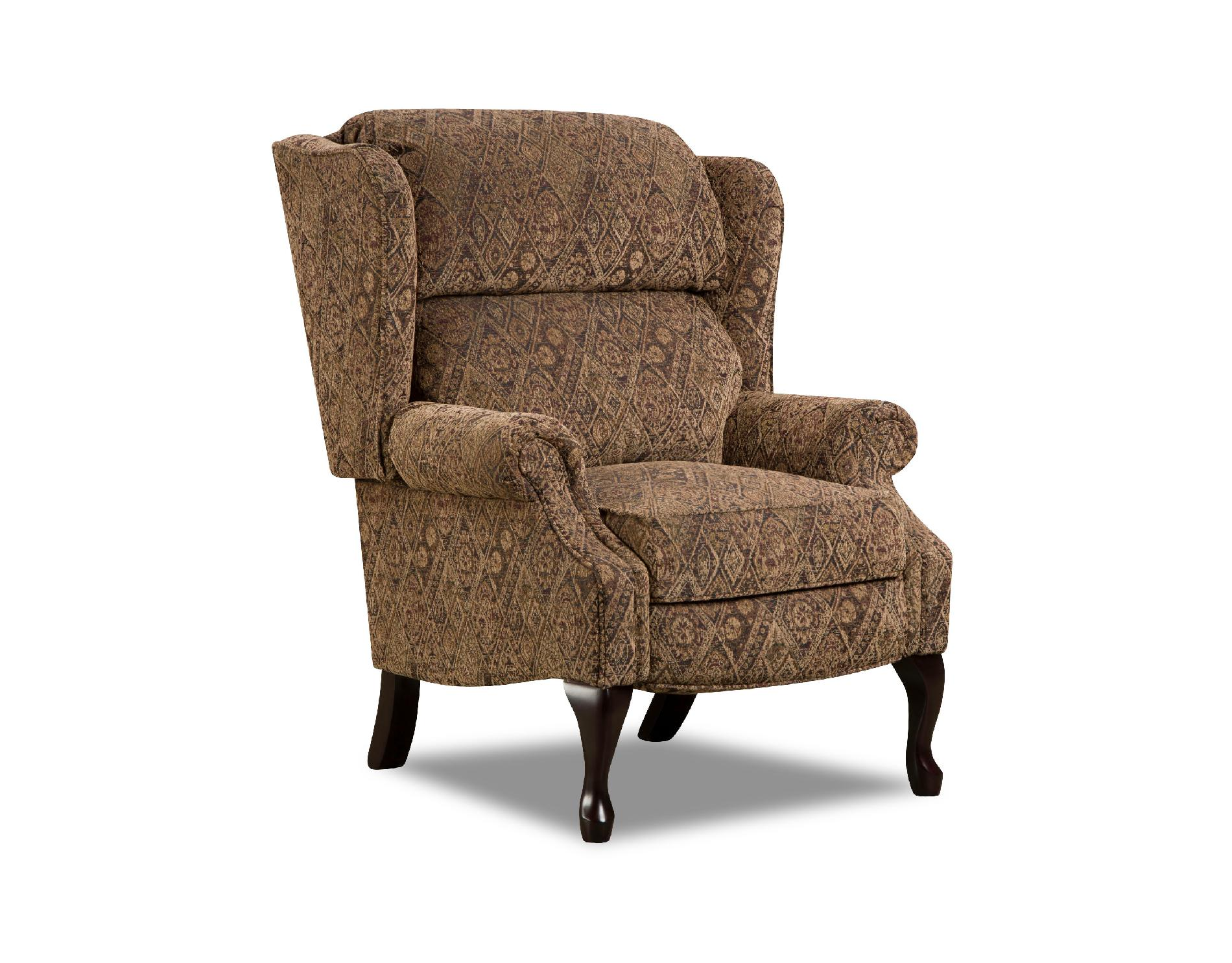 sears recliner chairs land of nod high chair mat simmons upholstery multi brown amalfi antique style