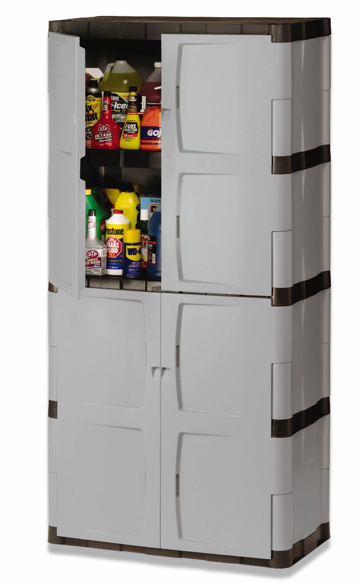 Rubbermaid Fg708300michr Full Double Door Cabinet