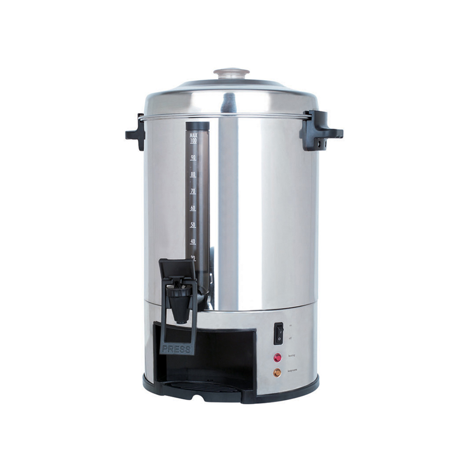 Chef 97089564m 100 Cup Stainless Steel Coffee Urn