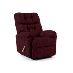 Sears Recliner Chairs White Dining Room Chair Covers Best Home Furnishings Burgundy Red Space Saver