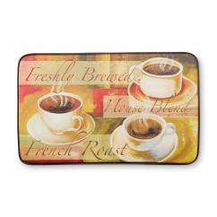 Coffee Rugs For Kitchen American Standard Faucet Repair Kmart Chef Mats Cushioned Floor Mat Cups