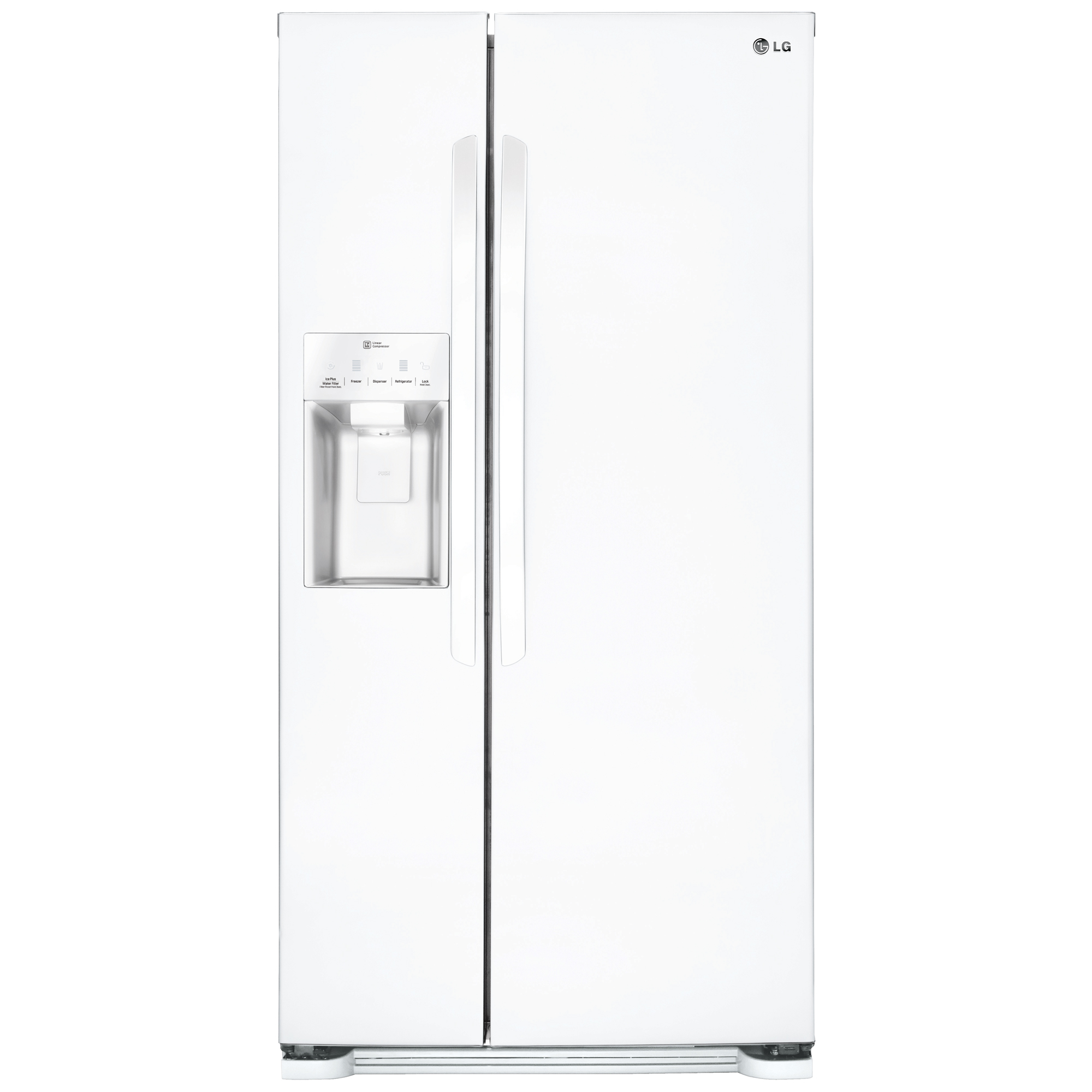 LG LSXS22423W 22.1 cu. ft. Side-by-Side Refrigerator with