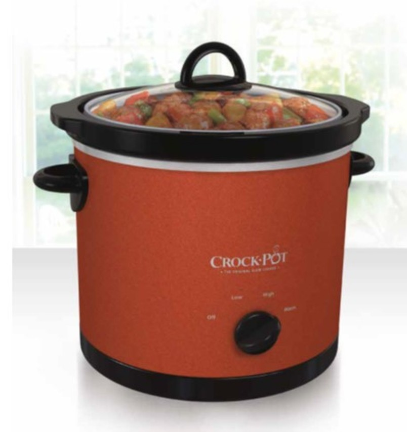 Jarden 3 Qt Crock Pot Cinnamon - Appliances Small Kitchen Slow Cookers