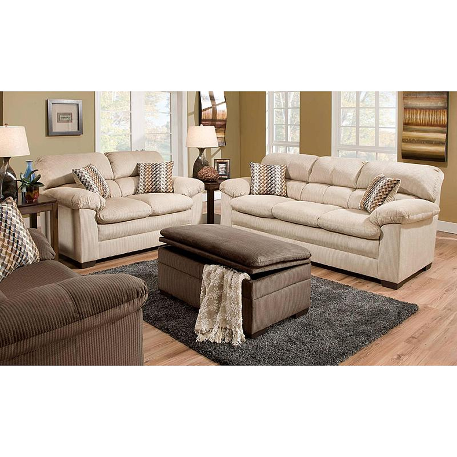 sofa mart lakewood professional cleaners belfast simmons upholstery 3685pk ottoman doe sears