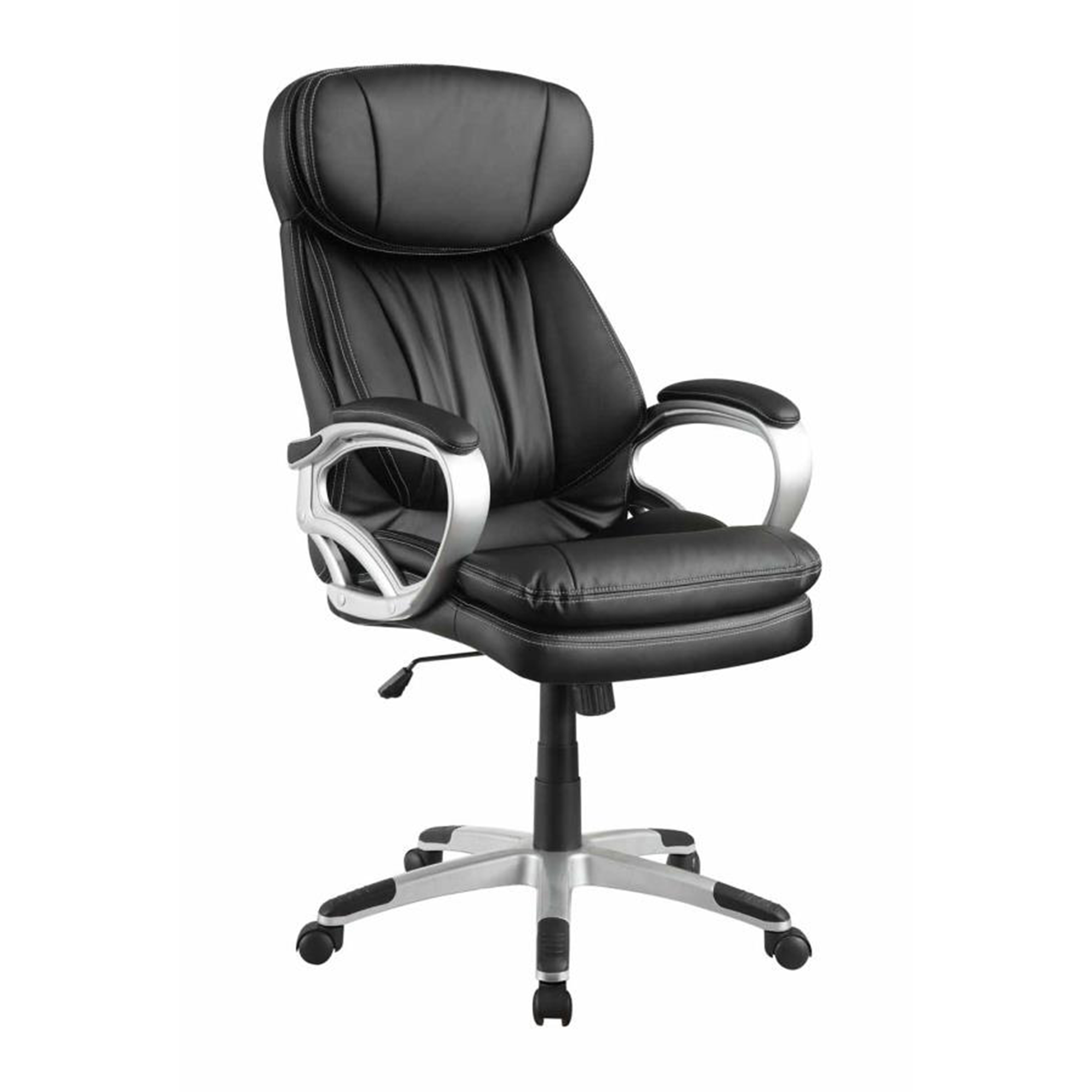 office chairs under 50 2 value city furniture accent venetian worldwide saunder leatherette chair in black