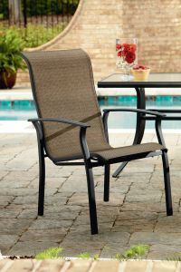 Garden Oasis Harrison 1pk Stationary Patio Dining Chair ...