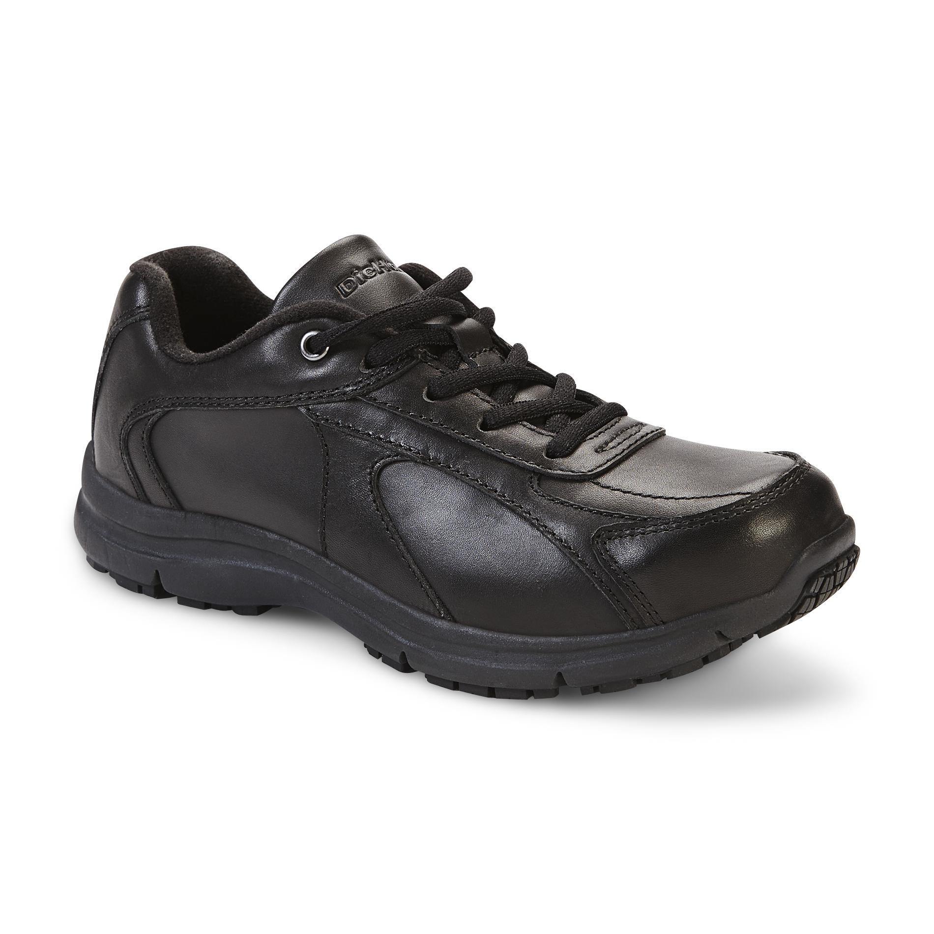 Diehard Women' Addison Slip Resistant Work Oxford - Black