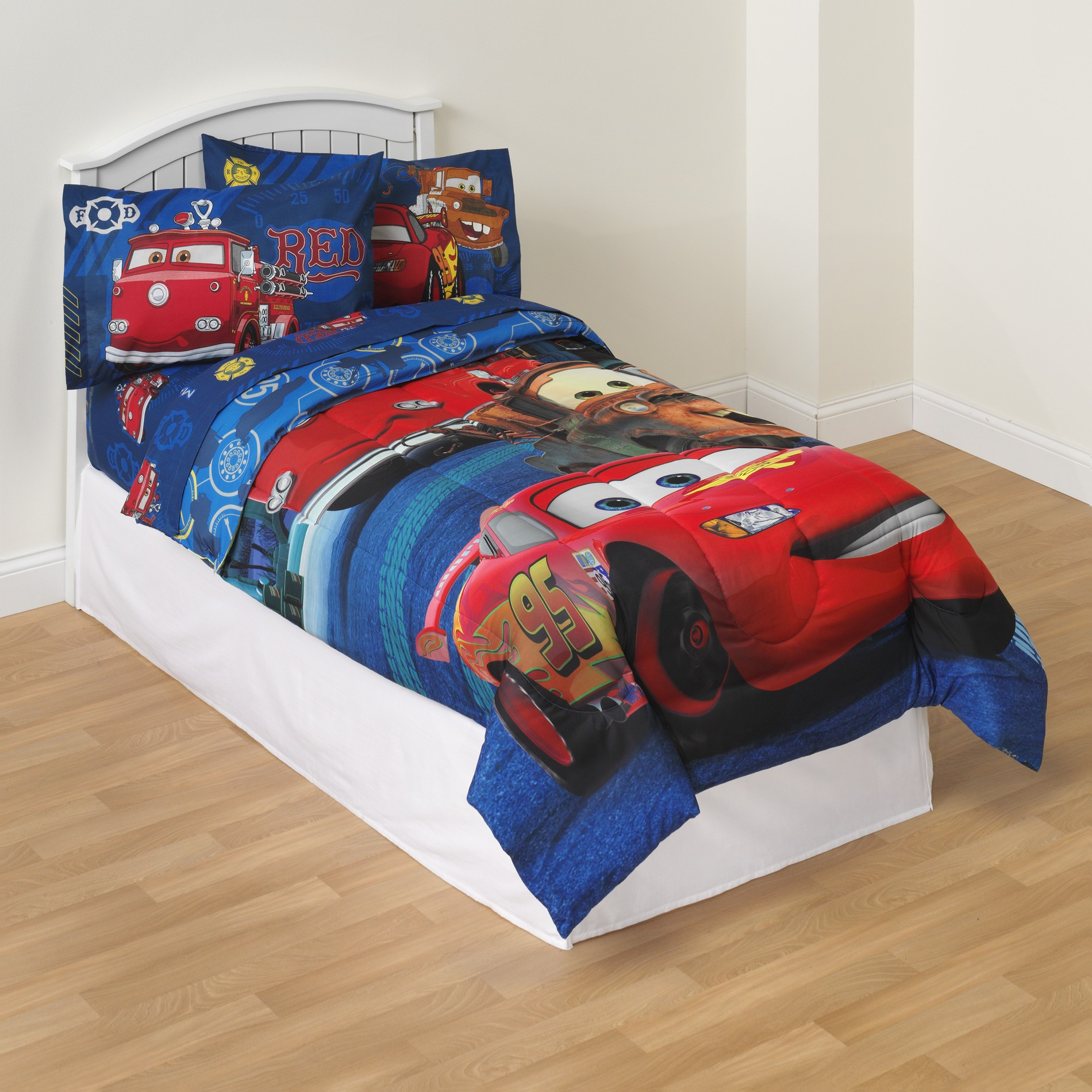 Disney Cars Boy' Pillowcase - Lightning Mcqueen & Mater