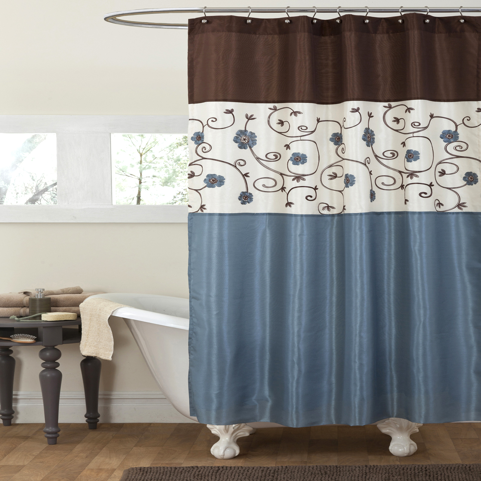 Turquoise And Brown Bathroom Decor