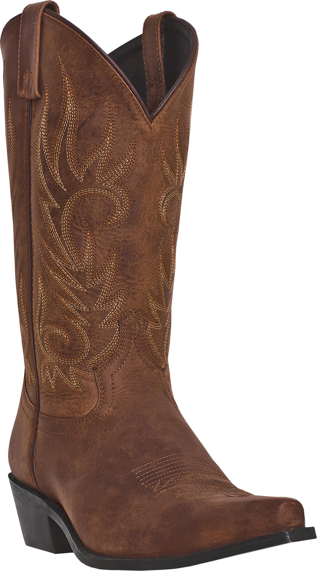Laredo Mens 68424 Willow Creek 13 Cowboy Boot  Tan