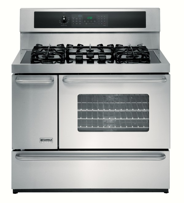 """Kenmore Elite 40"""" Double-oven Dual-fuel Range Withconvection"""