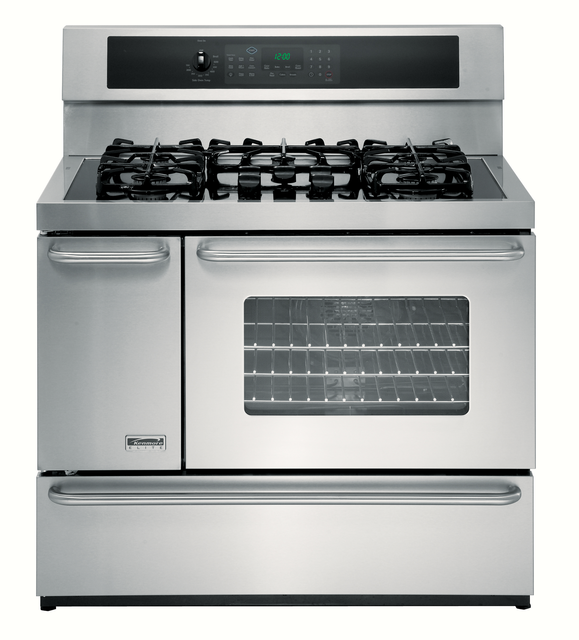 40 Inch Dual Fuel Double Oven Range