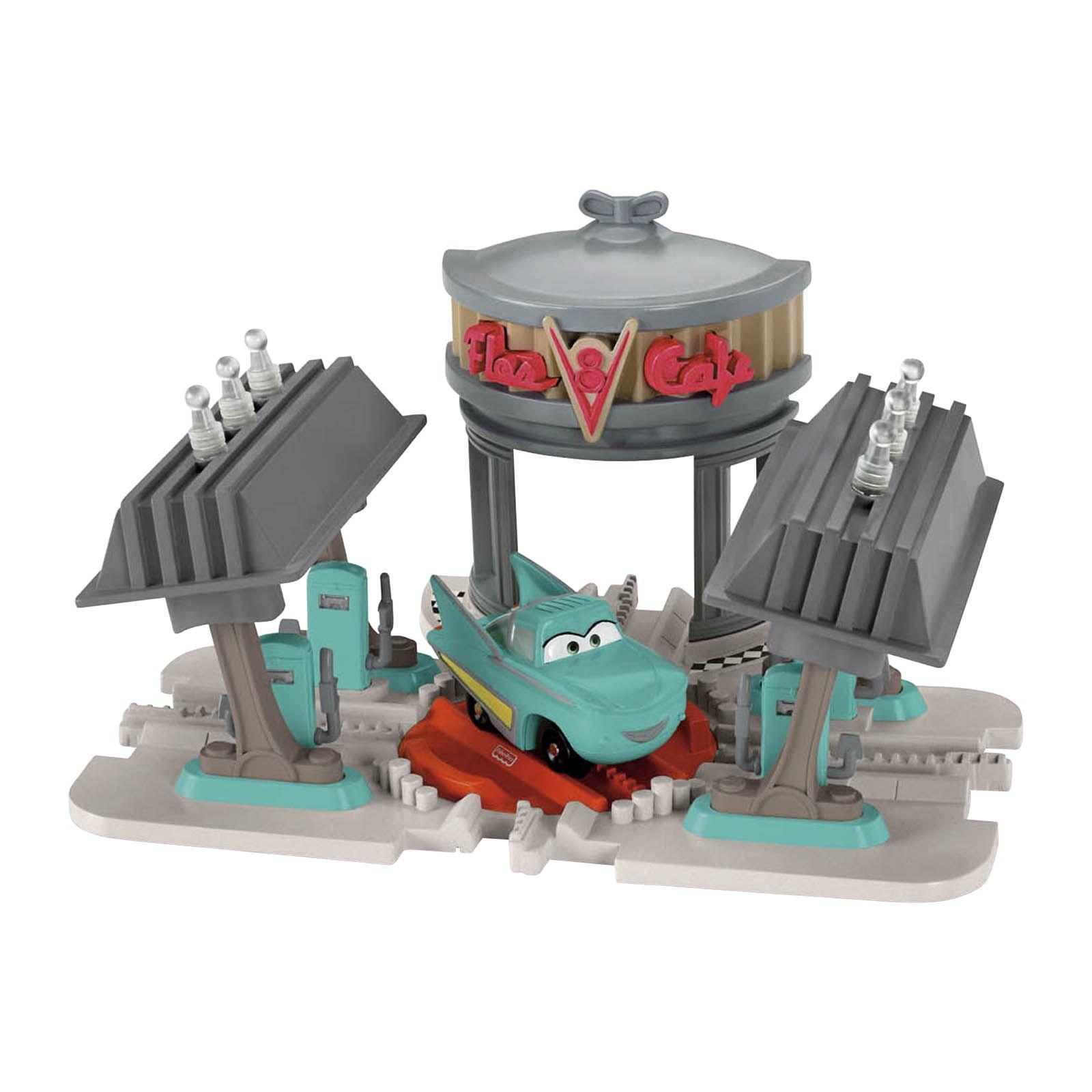 Geotrax Pixar Cars Flo' V8 Cafe - Toys