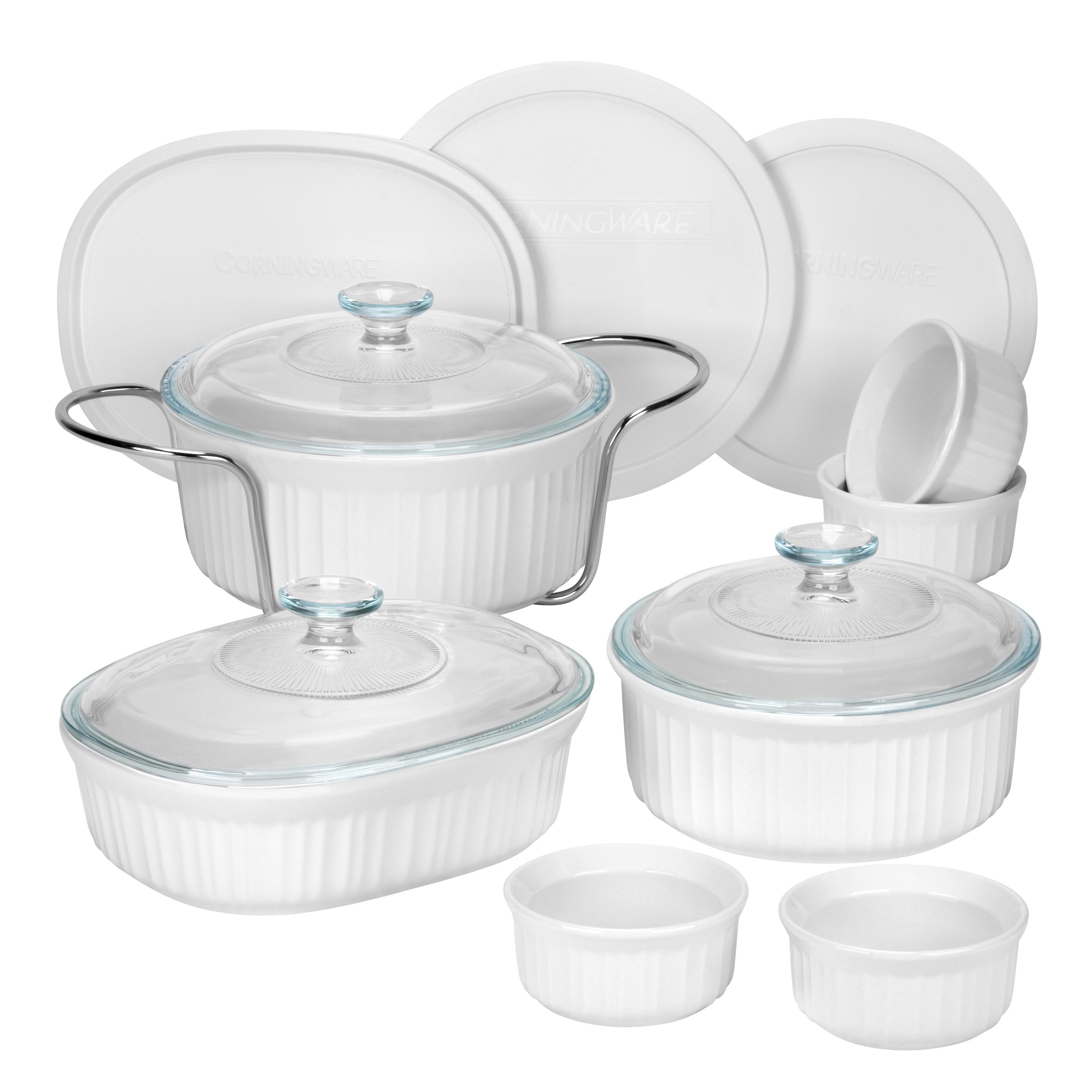 Corningware 14Piece White Bakeware Set
