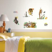 RoomMates Madagascar Peel and Stick Wall Decals