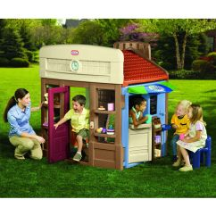 Little Tikes Chairs Gigatent Camping Chair With Footrest 6-in-1 Town Center Playhouse - Toys & Games Outdoor Furniture ...