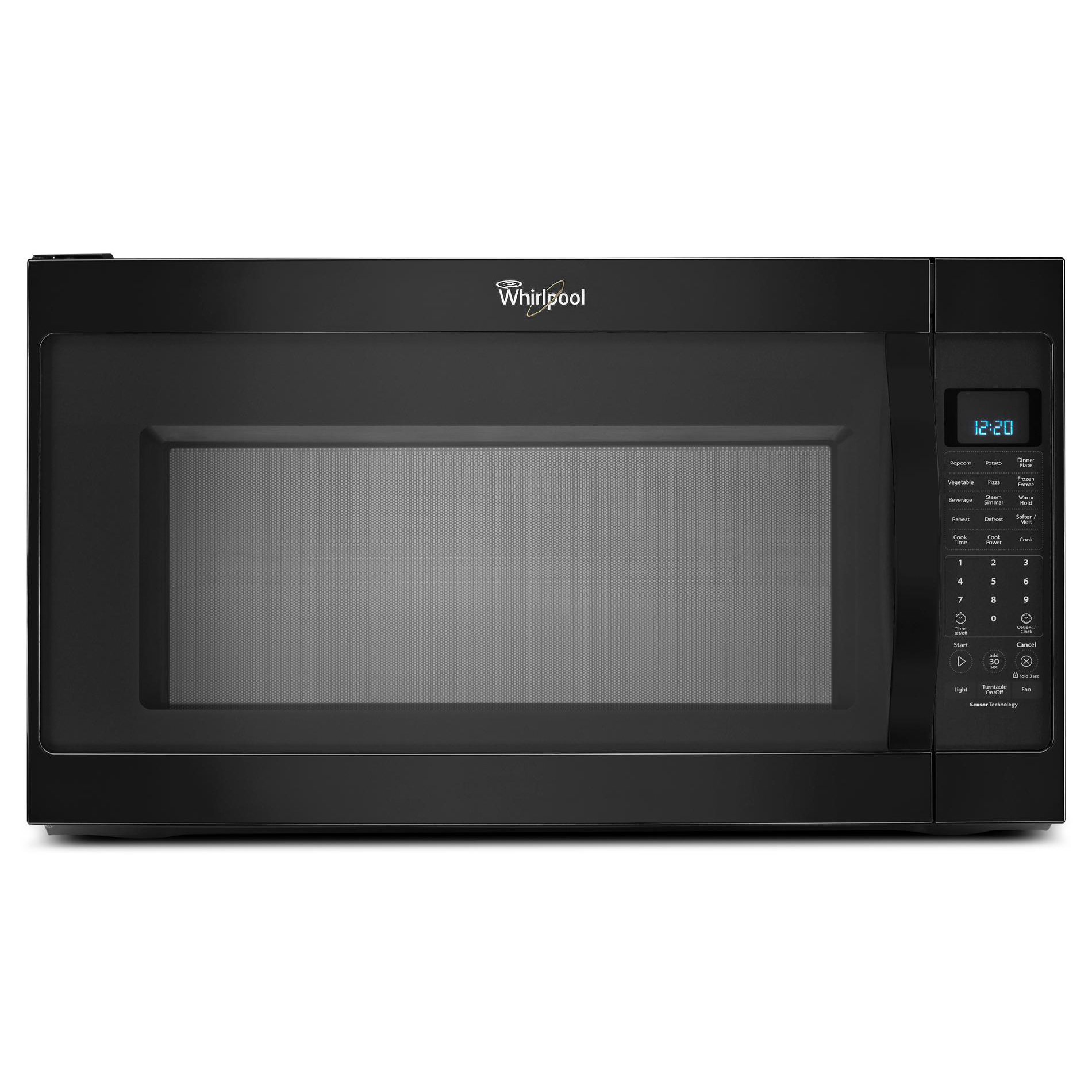 Whirlpool 2.0 Cu. Ft. Over-range Microwave Withcleanrelease Black Wmh53520cb