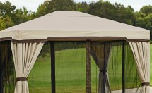 Garden Oasis Canopy Privacy Gazebo Limited