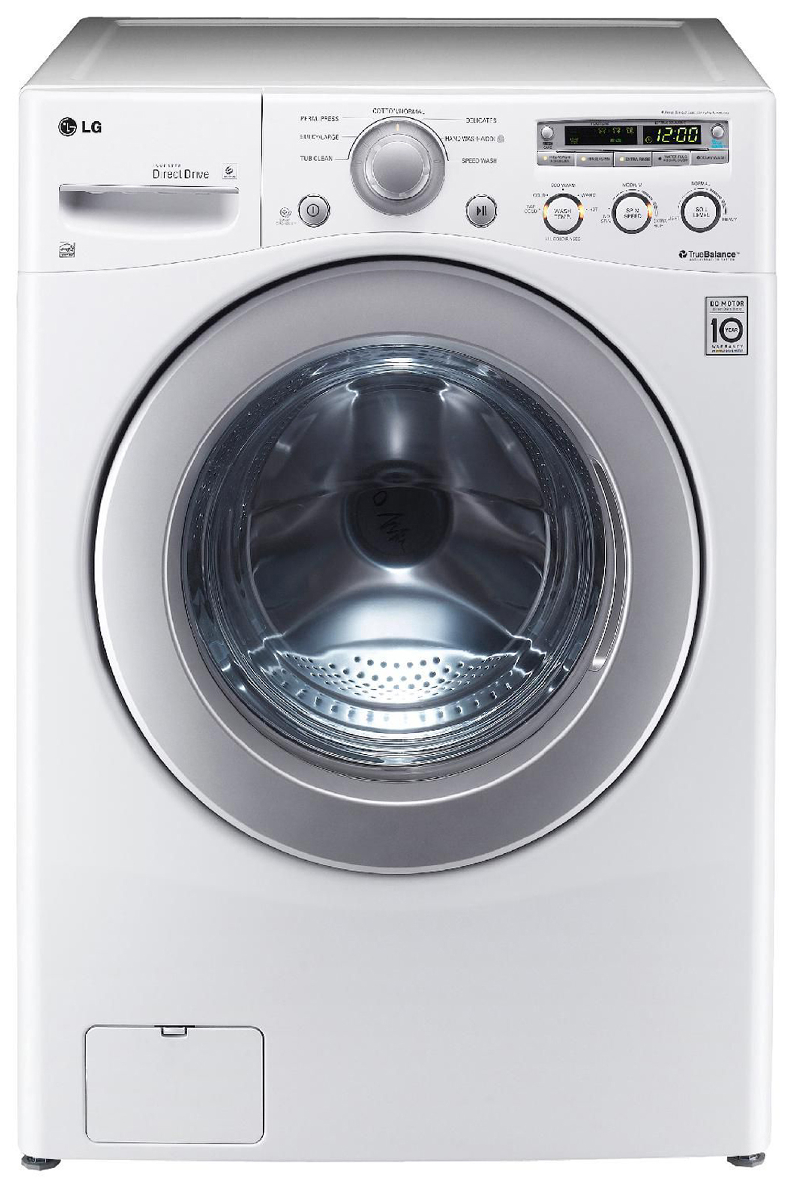 Lg Front Load Washer 3.6 Cu. Ft. Wm2250cw - Sears