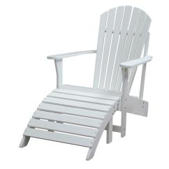 Patio Chairs With Footrests Art Deco Dining Chair International Concepts Adirondack Footrest