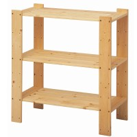 Wood Shelving Unit - Design Decoration