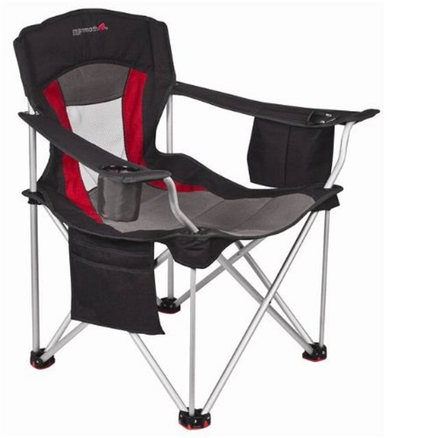 heavy duty aluminum sports chair armless office chairs with wheels base camp mr heater mammoth leisure