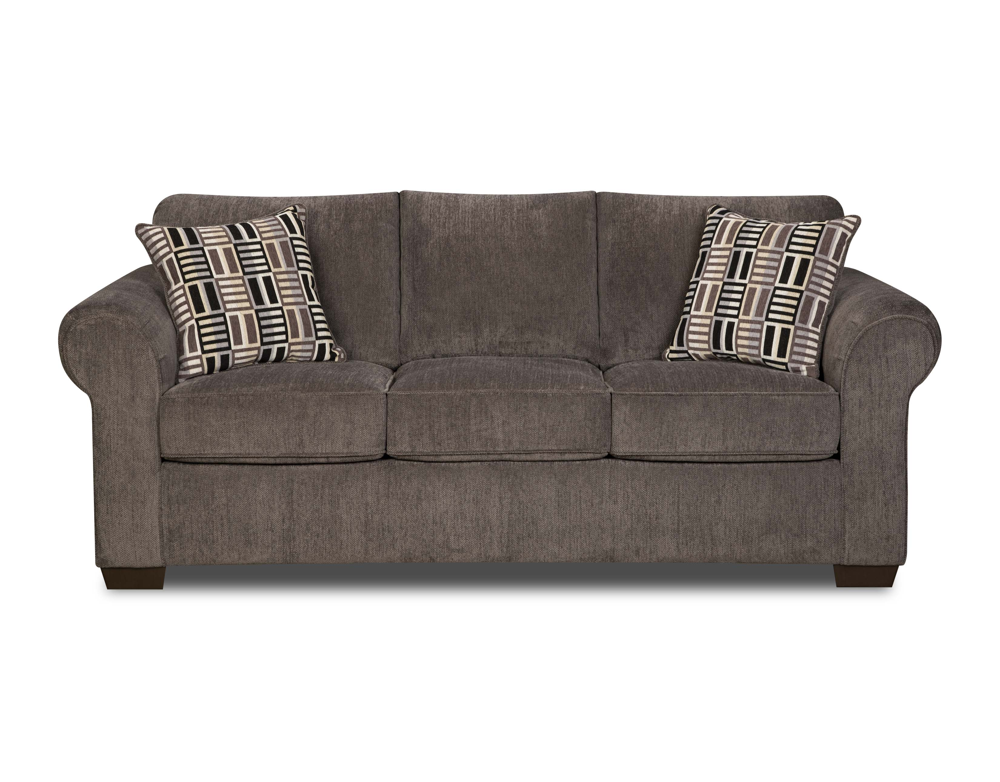dimensions of a full size sleeper sofa individual 3 cushion slipcover simmons gray lola