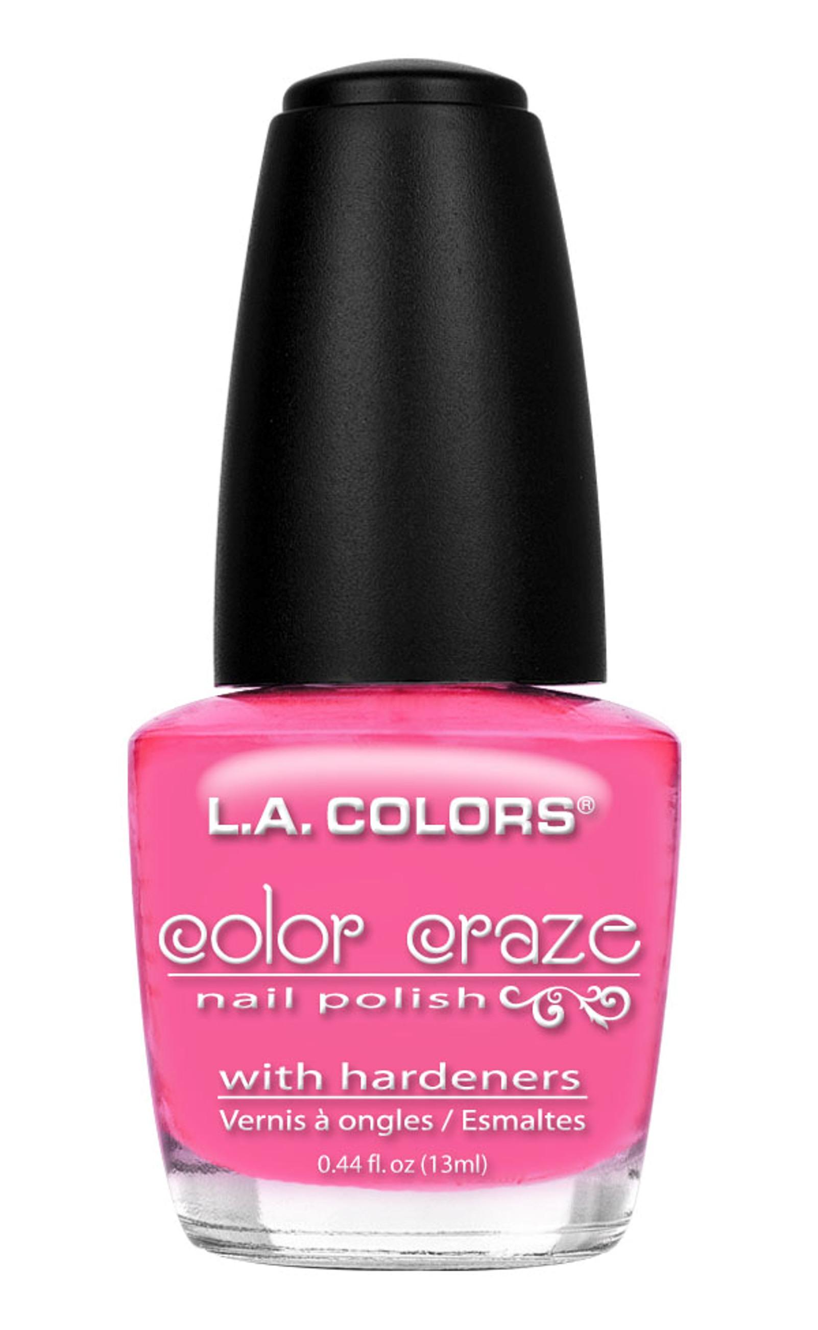 L. Colors Color Craze Nail Polish Pink Bubbles 0.44 Fl