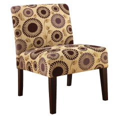 Floral Print Accent Chairs Classroom Stacking Jaclyn Smith Chair