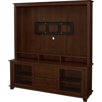 Bedford TV Stand Entertainment Center: Two Easy Glide ...