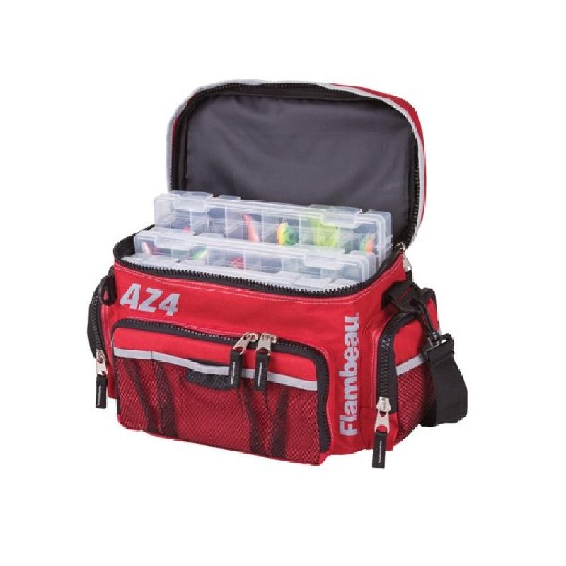 Flambeau Az4 Tackle Bag System 11.5x7.75x7.5 6106tb