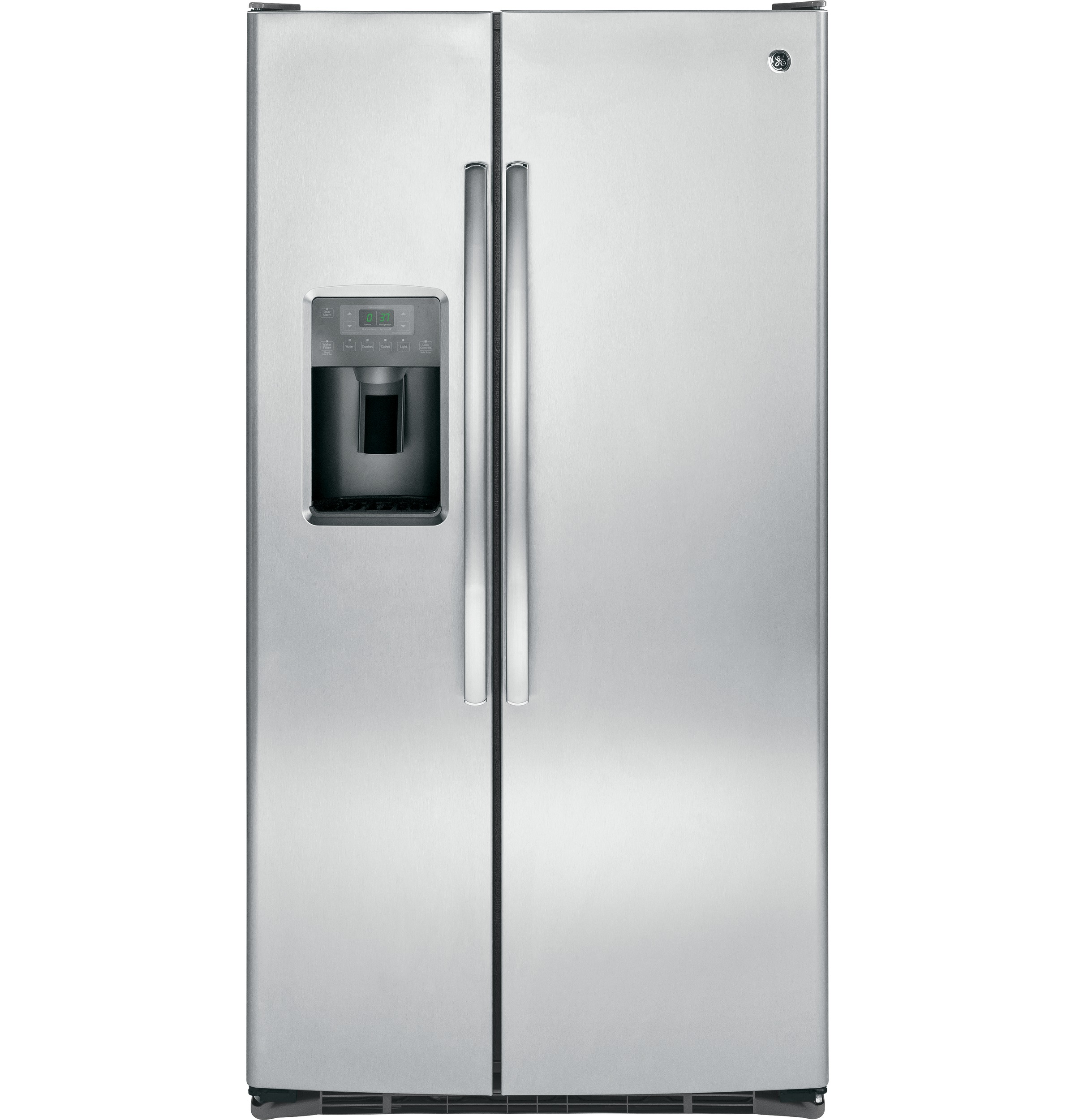 ge appliances gss25gshss 25 cu ft side by side refrigerator ge profile refrigerator parts list ge refrigerator water dispenser wiring diagram [ 2400 x 2500 Pixel ]