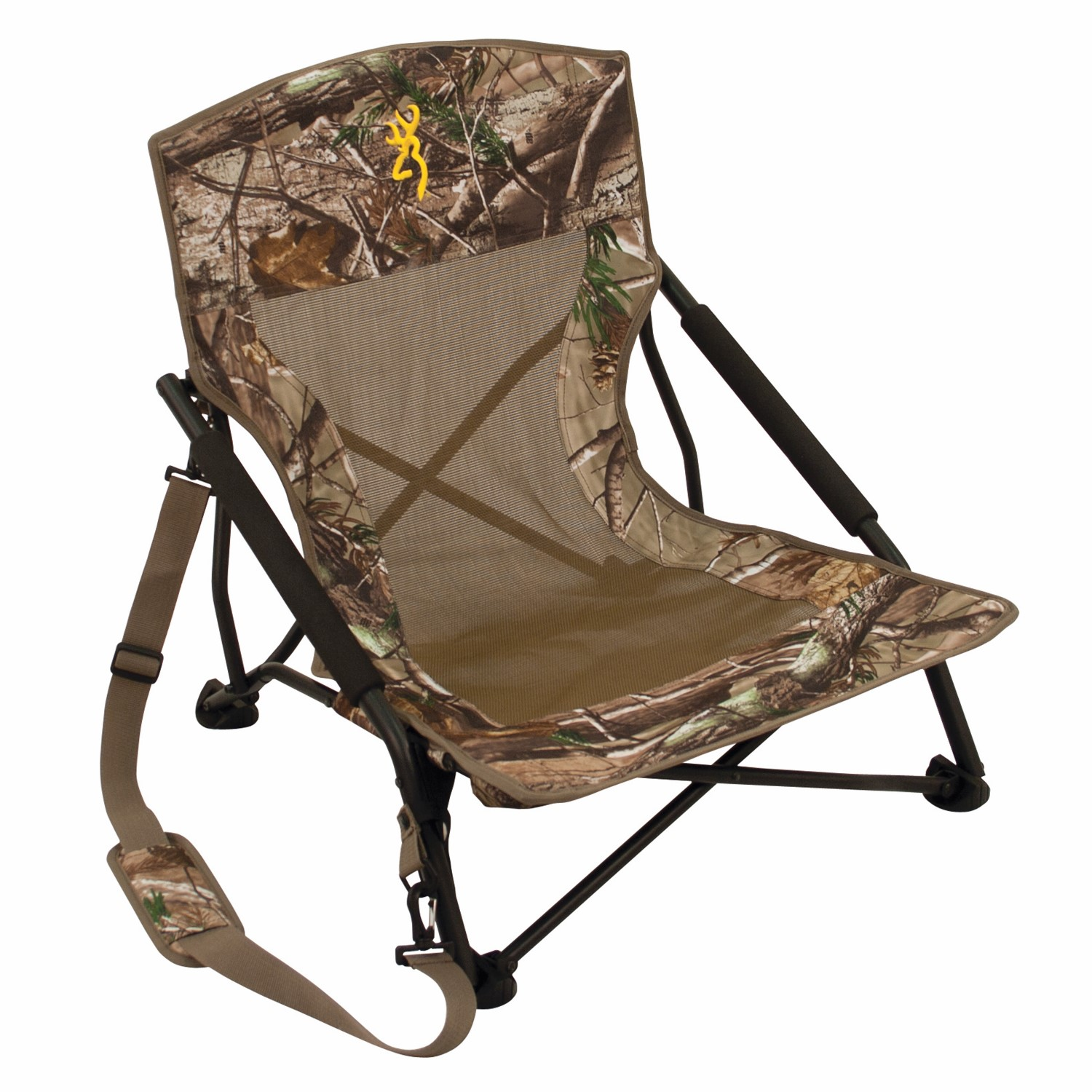 Camo Folding Chair Browning Browning Camping Strutter Chair Ap Camo Fitness