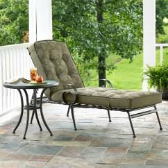 Sun Lounge Chairs Kmart Cardboard Chair Design No Glue Jaclyn Smith Cora Cushion Chaise Green Limited