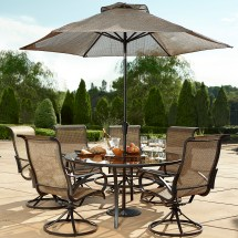 Round Patio Dining Table Sets