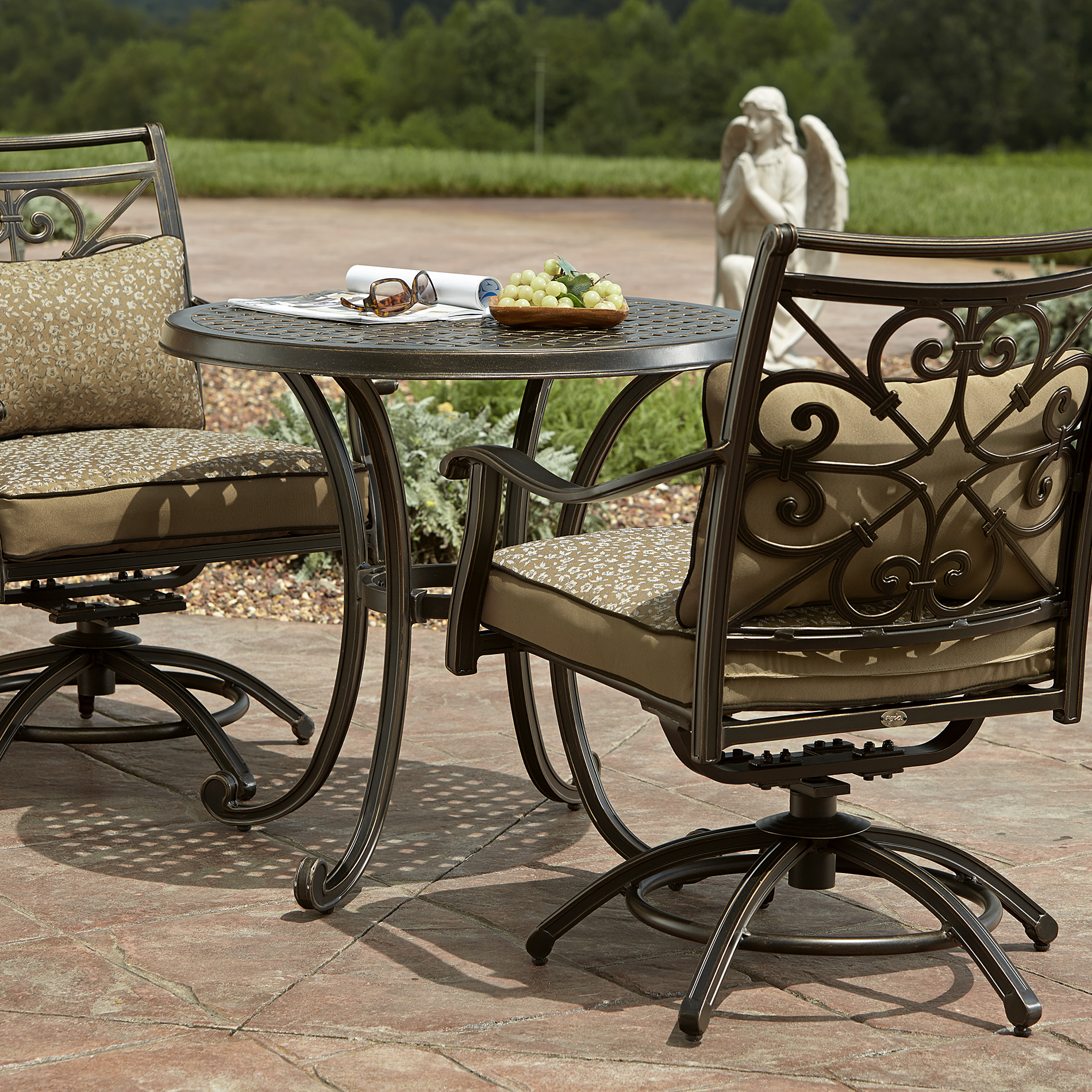 Agio International Fair Oaks 3 Piece Bistro - Outdoor